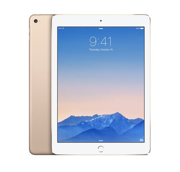 Apple Ipad Air 2 – 128GB – Gold – 4G/Wifi