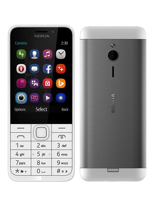 Nokia 230 Black/White