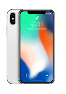 Apple iPhone X – 256GB – Gray/Silver (ZP/A)