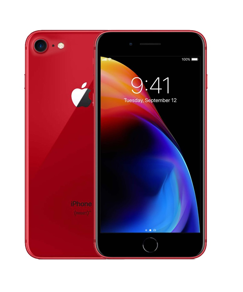 Apple iPhone 8 - 64GB - Red