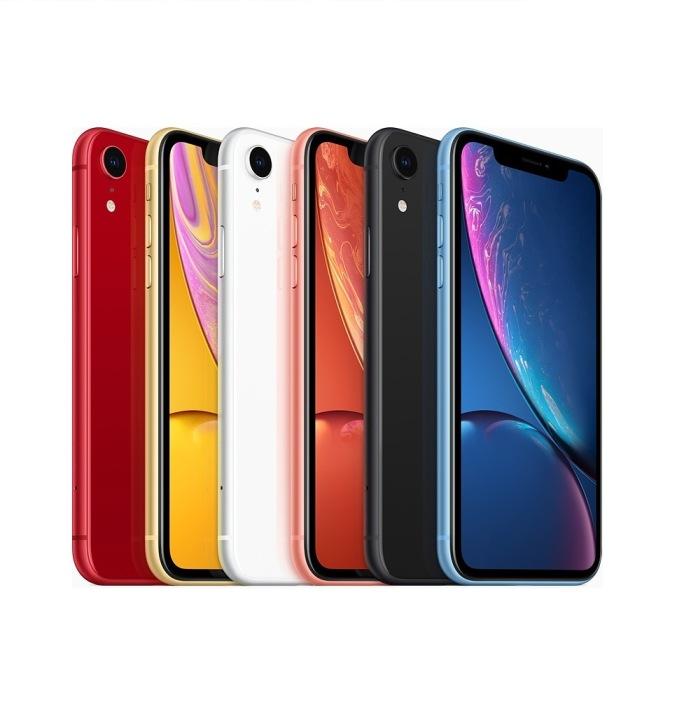 iPhone XR - 64GB - Đen/Trắng/Đỏ/Xanh/Cam/Vàng - (1 sim vật lý)