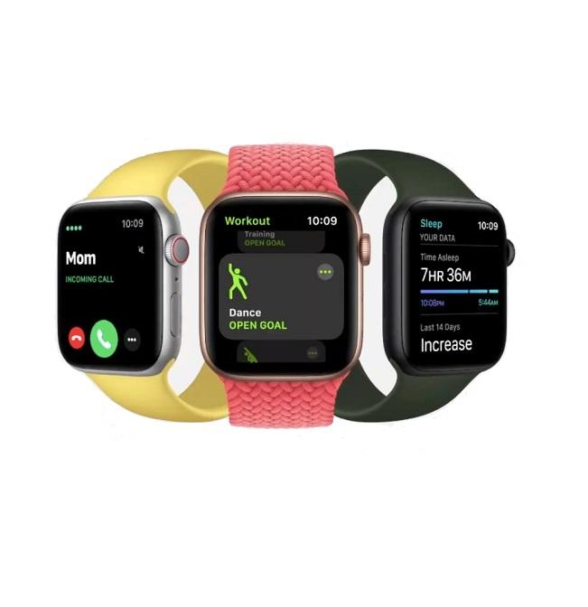 Apple Watch SE – 44mm – Đen/Trắng – GPS