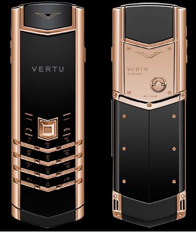 Vertu Signature S Rose Gold