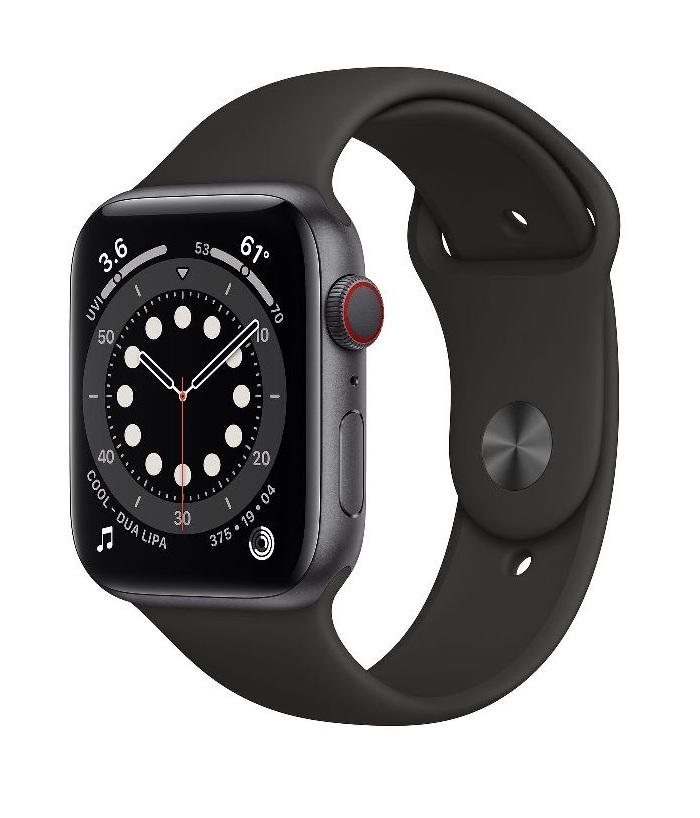 Apple Watch 6 – 44mm – Đen – LTE (hàng VN)